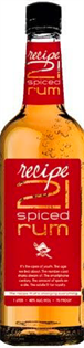Recipe 21 Rum Spiced 1.00l